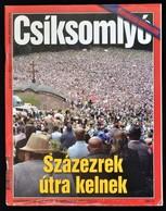 2006 Demokrata X. évfolyam 1. Különszám, Csíksomlyó - Százezrek útra Kelnek, 130p - Documentos Antiguos