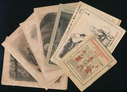 Vegyes Kisnyomtatvány Tétel: Kalendárium, Illusztrációk, Stb. - Documentos Antiguos