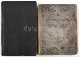 2db Vasutas Nyomtatvány: Mozdonyvezetők Zsebnaptára 1939, A Vasutas Szövetség évkönyve 1903. Megviselt Vászonkötésben - Documentos Antiguos
