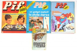 3 Db Pif Francia Nyelvű újság + Wayne D. Overholser: Sheriff Ohne Stern - Documentos Antiguos