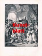 1827 C. Jäger Glockenweihe Glocke Kunstblatt 1905 !! - Stampe