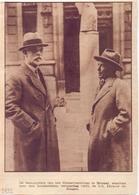 Orig Knipsel Tijdschrift Magazine - 100 Verjaardag Conservatorium Brussel Dhr Defauw & Jongen - 1932 - Documentos Antiguos