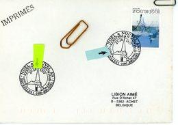 2731 Noël Et Nouvel An 1997 Sur Lettre Avec Cachet 1er Jour De Vente (voir Scan & Descr) - Postmark Collection