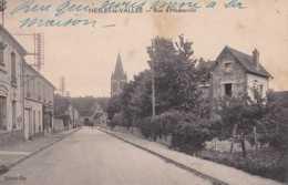 95 - Nesles-la-Vallée - Rue D'Hédouville - Circulé - BE - Nesles-la-Vallée
