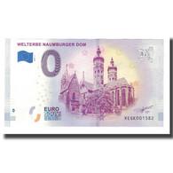 Allemagne, Billet Touristique - 0 Euro, Germany - Naumburg - Cathédrale De - Allemagne