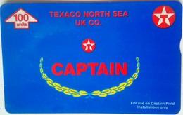 100 Units Captain, Texaco North Sea UK Co.( 600F ) - Reino Unido