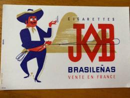 2 BUVARDS JOB CIGARETTE - Tobacco