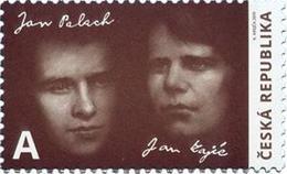1035 Czech Republic Jan Palach And Jan Zajic 2019 - Tschechische Republik