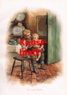 1846 H.M. Bennett Große Bruder Kinder Kunstblatt 1899 !! - Stampe