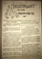 1936 PPF PARTI POPULAIRE FRANCAIS / JOURNAL L'INDEPENDANT DE CHEZ DELAUNAY BELLEVILLE / SAINT DENIS AUTOMOBILE   N10 - Historical Documents