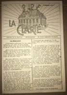 1936 PPF PARTI POPULAIRE FRANCAIS / JOURNAL LA CLARTE / CENTRE MAIRIE  SAINT DENIS    N10 - Historical Documents