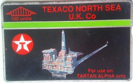 100 Units Texaco North Sea UK Co. ( For Tartan Use Only) 068E - Reino Unido