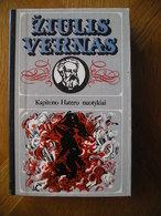 LITHUANIA Žiulis Vernas Kapitono Haterio Nuotykiai 1983 - Libros, Revistas, Cómics