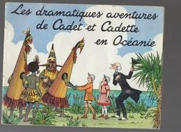 Album Collecteur D'images FAMILISTERE : Dramatiques Aventures De Cadet Et Cadette En Océanie (COMPLET)(M0136) - Other