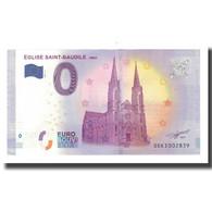 France, Billet Touristique - 0 Euro, 30/ Nîmes - L'Église De Saint-Baudile - Frankrijk