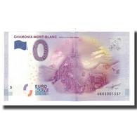 France, Billet Touristique - 0 Euro, 74/ Chamonix-Mont-Blanc - Aiguille Du Midi - Frankrijk