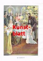 1856 M. Hohneck Ein Geschenk Weihnachten Kunstblatt 1898 !! - Stampe