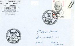 2756 - Edmond STRUYF - Sur Lettre Avec Cachet 2ème Jour Prévente (voir Scan & Descr) - Postmark Collection
