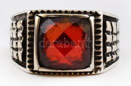 Ezüst(Ag) Gyűrű, Kővel, Jelzett, Méret: 51, Bruttó: 4,8 G - Sin Clasificación