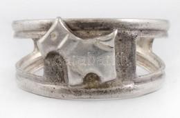 Ezüst(Ag) Kutyusos Gyűrű, Jelzett, állítható Méret, Kb. 49, Nettó: 1,5 G - Sin Clasificación