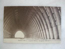 AVIATION - ORLY - Intérieur D'un Hangard à Dirigeables - Haut 58 M - Largeur 100 M - Longueur 300 M - Zeppeline