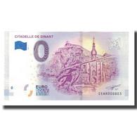 Belgique, Billet Touristique - 0 Euro, Belgium - Dinant - La Citadelle De Dinant - België