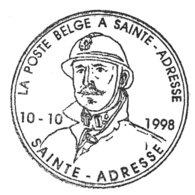 A VOIR !!! Bureau Poste Temporaire 2680 (Albert II à Lunettes 17F) Sur Lettre Avec Cachet Spécial (voir 2 Scan & Descr) - Postmark Collection