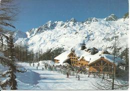 Chamonix Mont Blanc (Haute Savoie, Francia) Vue Panoramique En Hiver, Panoramic View, Scorcio Panoramico Invernale - Chamonix-Mont-Blanc