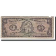 Billet, Équateur, 10 Sucres, 1986, 1986-04-29, KM:109, TB - Ecuador