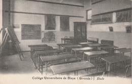**** 33 ***   College Universitaire De Blaye étude Neuve TTBE - Blaye