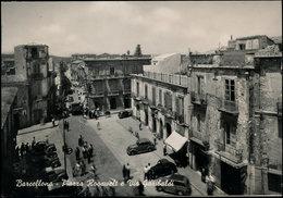 BARCELLONA (MESSINA) - PIAZZA ROOSWELT E VIA GARIBALDI 1965 - Messina