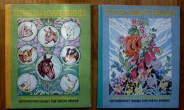 2 LIVRES ENFANT PETER'S FLOWER FRIENDS+PETER'S FARMYARD FRIENDS 1946-HUTCHINSON - Bücher, Zeitschriften, Comics