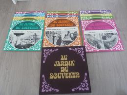 Coffret De 12 Disques 33 Tours Vinyles - Au Jardin Du Souvenir - - Collezioni