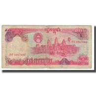 Billet, Cambodge, 500 Riels, KM:38a, TB - Cambodia