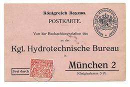 Bayern Dienst Postkarte - Bavaria