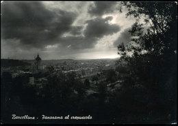 BARCELLONA (MESSINA) - PANORAMA AL CREPUSCOLO - Messina