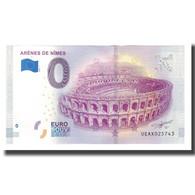 France, Billet Touristique - 0 Euro, 30/ Nîmes - Les Arènes De Nîmes, 2019 - Frankrijk