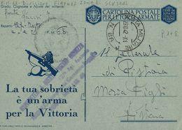 FRANCHIGIA WWII POSTA MILITARE 69 1942 DEBAR JUGOSLAVIA X PISTOIA - 1900-44 Vittorio Emanuele III