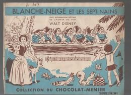 Album Collecteur D'images MENIER : Blanche Neige Et Les 7 Nains ( COMPLET) (CAT1884) - Other