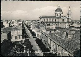 BARCELLONA (MESSINA) - VEDUTA PANORAMICA CON VIA ROMA 1959 - Messina
