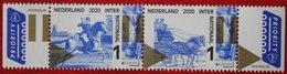 Oude Post Routes (Internationaal) : Horse Paard Pferd Europa 2020 POSTFRIS / MNH ** NEDERLAND  NETHERLANDS - Unused Stamps