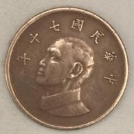 Taiwan, 1 Yuan, (1 Dollar), 1981. - Taiwan