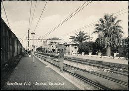 BARCELLONA (MESSINA) - STAZIONE FERROVIARIA 1955 - Messina
