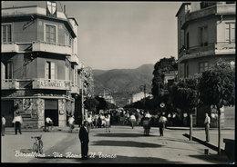 BARCELLONA (MESSINA) - VIA ROMA, IL TRONCO 1955 - Messina
