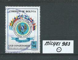 BOLIVIEN MICHEL 983 Gestempelt Siehe Scan - Bolivie