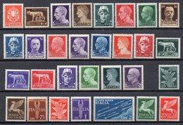 ITALIA Regno 1930 Imperiale + Posta Aerea Serie Completa Nuova MNH /** - Sammlungen (ohne Album)