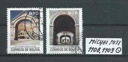 BOLIVIEN MICHEL SATZ 1108,1109 Gestempelt Siehe Scan - Bolivie