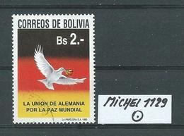 BOLIVIEN MICHEL 1129 Gestempelt Siehe Scan - Bolivie