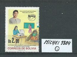 BOLIVIEN MICHEL 1384 Gestempelt Siehe Scan - Bolivie