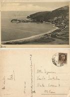 Budva Budua Montenegro Crna Gora Panorama B/w Pcard Italy Occupation Era 17mar1943 By Posta Militare - Montenegro